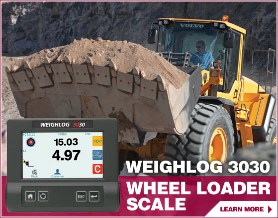 3030 Wheel Loader Scale